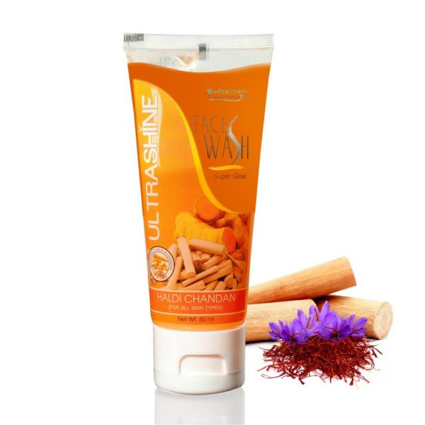 ULTRASHINE HALDI CHANDAN FACEWASH
